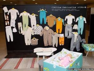 Finnish Babies Sleep In Cardboard Boxes