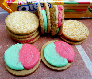 Oreo Debuts Watermelon-Flavored Cookies