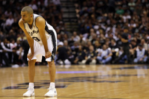 San Antonio Spurs' Tony Parker Injures Hamstring In Game 3