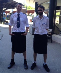 Why Swedish Male Train Drivers Wear Skirts To Work