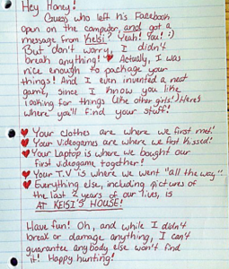 Woman Dumps Boyfriend By Writing 'Best Break-Up Letter Ever'