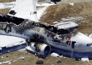 Asiana Airlines Plane Crashes At San Francisco Airport
