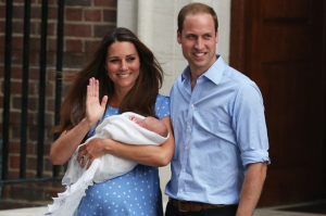 Duke And Duchess Of Cambridge Present Baby Prince To The World