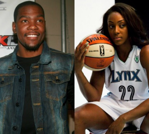 Kevin Durant Engaged To WNBA's Monica Wright