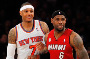 L.A. Lakers Pursuing LeBron James And Carmelo Anthony For 2014