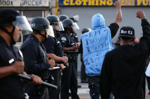 Zimmerman Protesters Storm Los Angeles Streets