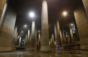 How Tokyo's Giant Tunnels Protect City From Floods