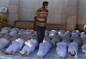 Hundreds Killed In Syria Gas Attack