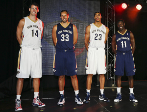 New Orleans Pelicans Unveil New Uniforms