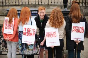 Redheads March In First Ginger Pride Walk
